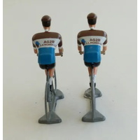 Flandriens© Original Hand Painted Models - AG2R Jerseys