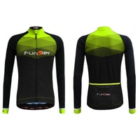 Funkier - Bike/Cycling Men's Jersey - Spoleto LW Thermal Long - Various Sizes