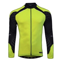 Funkier - Bike/Cycling Men's Jersey - Firenze - Yellow Long Sleeve - Various