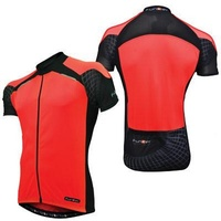 Funkier - Bike/Cycling Men's Jersey - Firenze Active - Red - Various Sizes