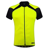 Funkier - Bike/Cycling Men's Jersey - Firenze Active - Yellow - Various Sizes