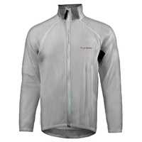 Funkier - Bike/Cycling Waterproof Men's Jacket - Lecco - Clear - Various Sizes
