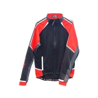 Funkier - Bike/Cycling Men's Thermal Jacket - Pontebba - Blk/Gy/Rd - Various