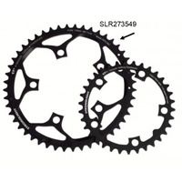 BPW Bike/Cycling Chainring - ROAD 'Stronglight' 52T - CT2 - 110mm BCD - Black
