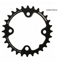 BPW Bike/Cycling Chainring - MTB 'Stronglight' 28T - SRAM XX-X7 - 80mm - Black