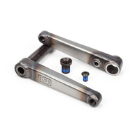 BSD BMX Crank Set - Substance XL - Matt Raw -Various Sizes