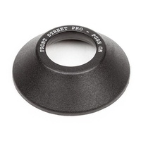 BSD BMX Hub Guard - Jersey Barrier Front Street Pro Push On Guard - Black