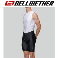 Bellwether Cycling / Bike Bibshorts - Men's Endurance Gel Bib - Black