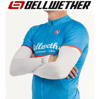 Bellwether Cycling / Bike Sun Sleeves - Coldflash UPF50+ Sun Sleeves - White