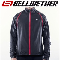 Bellwether Cycling / Bike Jacket - Velocity Convertible Jacket - Black