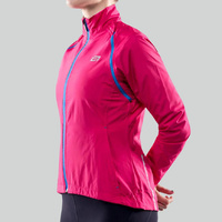 Bellwether Cycling / Bike Jacket - Womens Convertible Velocity - Berry - Medium