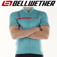 Bellwether Cycling / Bike Jersey - Men's Helius Jersey - Aqua - L