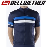 Bellwether Cycling / Bike Jersey - Men's Edge Jersey - Navy