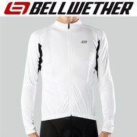 Bellwether Cycling / Bike Jersey - Men's Sol-Air UPF 40+ Jersey - White