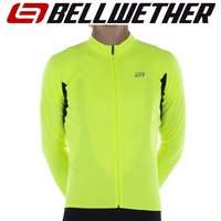 Bellwether Cycling / Bike Jersey - Men's Sol-Air UPF 40+ Jersey - Hi-Vis