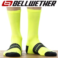 Bellwether Cycling / Bike Socks - Tempo Sock - Hi-Vis