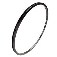 "BOX Focus 20 x 1 1/8"" (451mm x 12mm) 28 Hole BMX Bike Rim - Black"