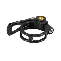 BOX Helix 31.8mm Quick Release BMX Seat Post Clamp - Black Seatpost Bike Clamp