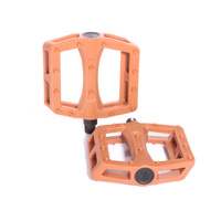 Cult Dak -Dakota Roched 9/16 BMX Pedals - Gum