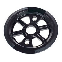 Cult Dak Dakota Roche 25T BMX Sprocket Guard - Black
