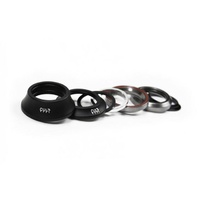 Cult Headset Short Cap BMX Headset - Black
