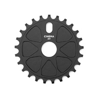 Cinema BMX Sprocket - Rock Sprocket - 25T - 7075 T6 - Black