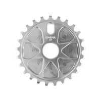 Cinema BMX Sprocket - Rock Sprocket - 25T - 7075 T6 - Silver