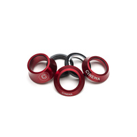 Cinema BMX Headset - Lift Kit - Integrated - 1 1/8 - Red