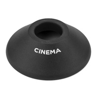 Cinema BMX Hub Guard - CR - Rear - Offdrive Side - Nylon - Black