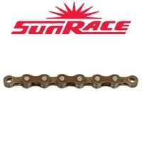 Sunrace Bike Chain - CNM22 - 5/6 Speed - 116L - Brown