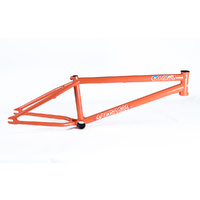 "Colony Sweet tooth Bike Frame - 21"" Matte Metal Orange BMX Bike Frame - 2018"