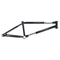 "Colony Monash Bike Frame - 21"" Gloss Black BMX Bike Frame - 2018"