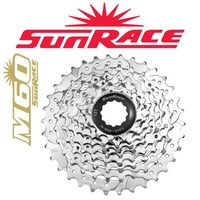 Sunrace Bike Cassette - 7 Speed - 12 - 28T - MTB - Silver