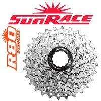 Sunrace Bike Cassette - 7 Speed - 11 - 24T - Silver