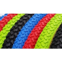 CST BMX Tyre - FS Retro - C640 - Red/Gumwall - Various Sizes