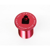 Colony BMX M24 Fork Bolt Top Cap Red