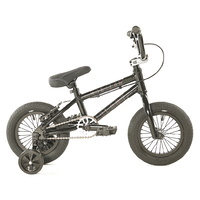 "Colony BMX Bike - Horizon 12"" Micro Freestyle - 11.9""TT - Gloss Black / Polished"