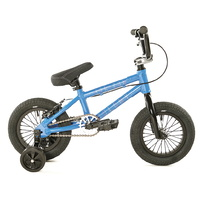 "Colony BMX Bike - Horizon 12"" Micro Freestyle - 11.9""TT - Dark Blue / Polished"