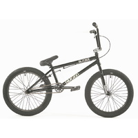 "Division BMX Bike - Blitzer 20"" - 19.25""TT - Gloss Black / Polished"