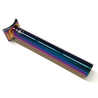 Colony 185mm Pivotal BMX Seat Post 25.4mm - Rainbow / Jetfuel Bike Seatpost