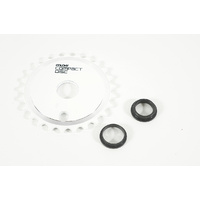Colony CD BMX Sprocket 25T Bike Sprocket - White