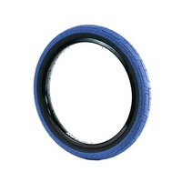 Colony Grip Lock BMX Tyre 20 x 2.2 Blue with Black Wall Bike Tire 110PSI