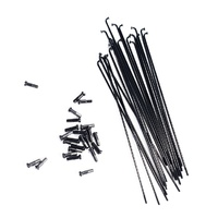 Colony BMX Spokes S / Steel Black 182mm x 20 - Black