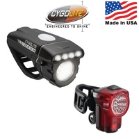Cygolite Dash 520 + Hotshot Micro 30 USB Combo USB Front & Rear Light Set