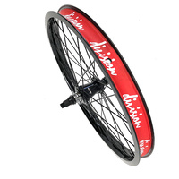 "Division Tactical Freecoaster RHD 20"" BMX Wheel - Black Wheel Only"