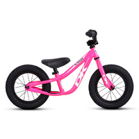 DK Nano Balance Bike - Pink with White Graphics