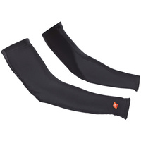 De Marchi Cycling/Bike Arm Warmers - Black - Various Sizes