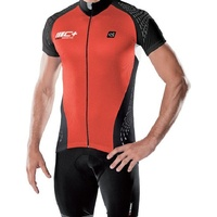 De Marchi Cycling/Bike Jersey - C+ Jersey - Red - Various Sizes