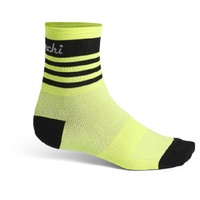 De Marchi Cycling/Bike Socks - Prolite - Yellow - Various Sizes