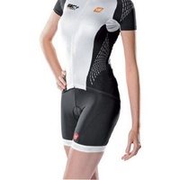 De Marchi Cycling/Bike Jersey - Women's C+ Jersey - White - Various Sizes
